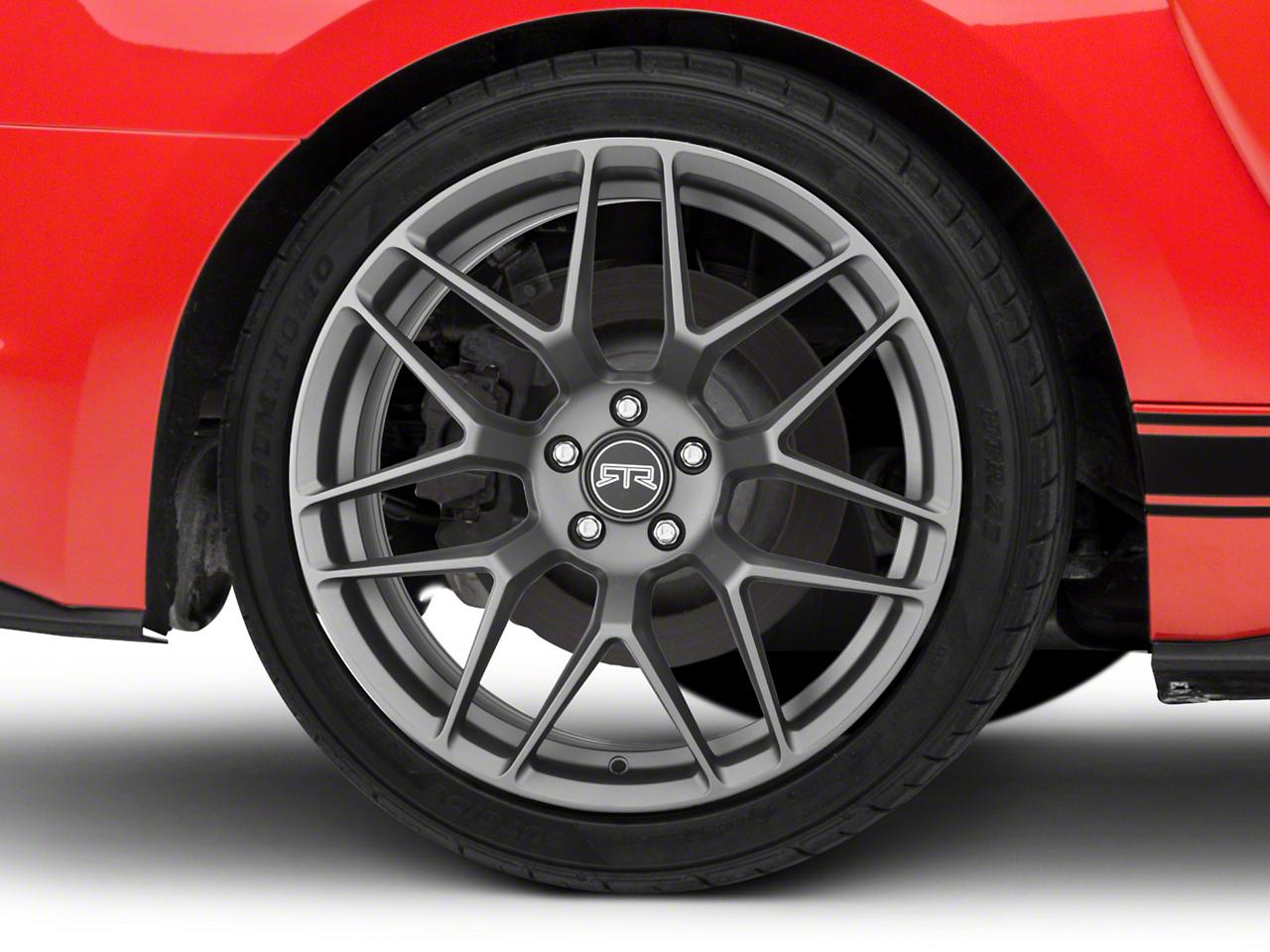 RTR Tech 7 Charcoal Wheel - 20x10.5 (15-17 All)