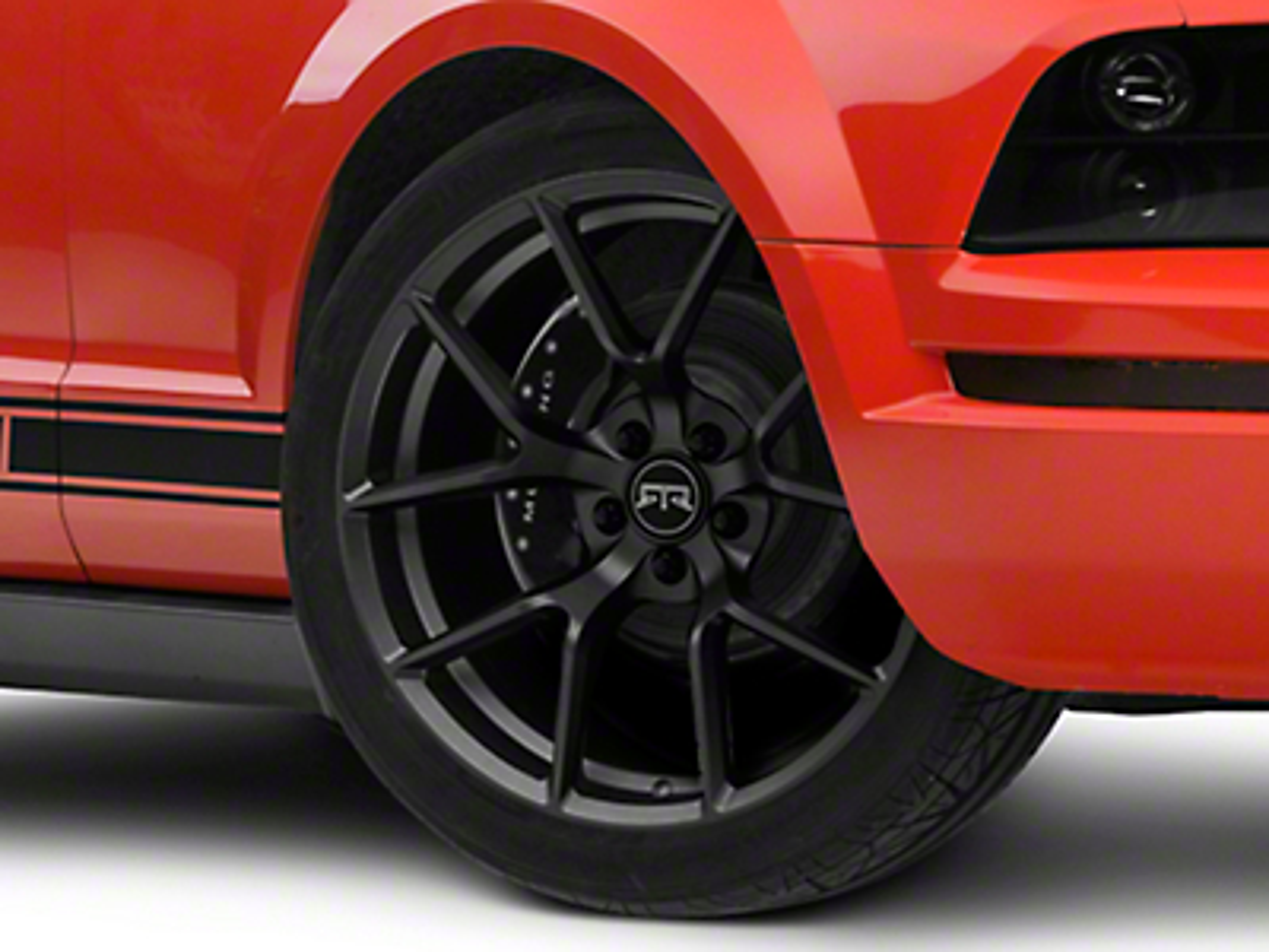 RTR Tech 5 Charcoal Wheel - 20x9.5 (05-14 All)