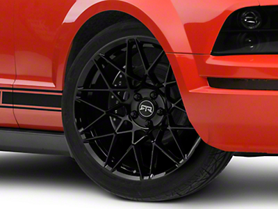 RTR Tech Mesh Black Wheel - 20x9.5 (05-14 All)