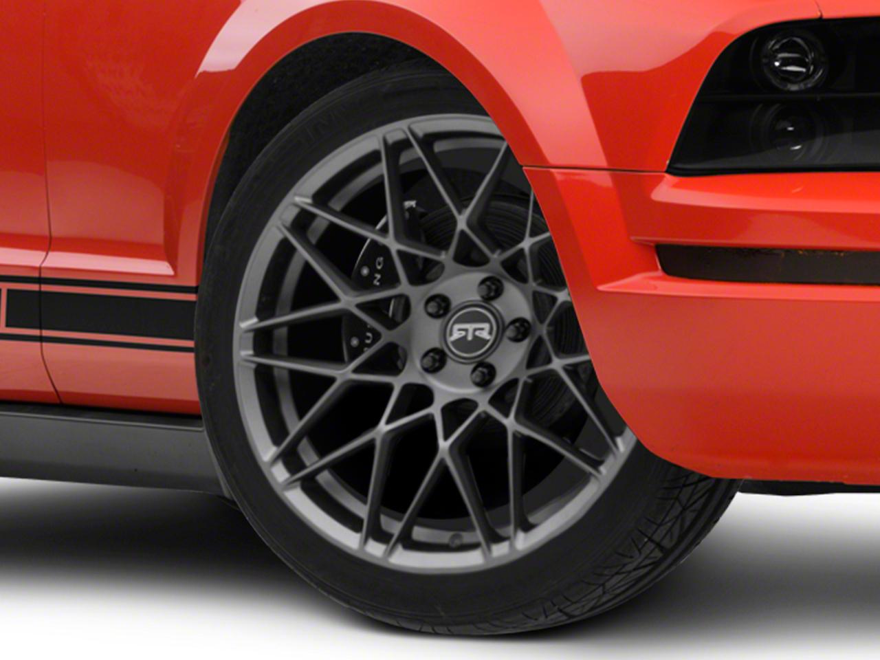 RTR Tech Mesh Charcoal Wheel - 20x9.5 (05-14 All)