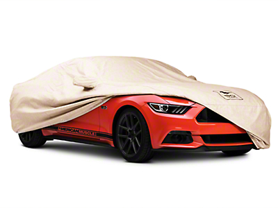 Covercraft Deluxe Custom-Fit Car Cover - 50th Anniversary Logo (15-17 Fastback)