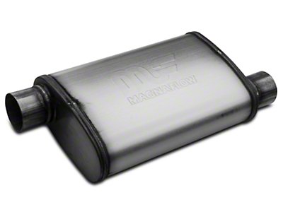 Magnaflow Performance Series Offset 4x9 Muffler - 2.5 in. Satin (79-04 All, Excluding 99-04 Cobra)