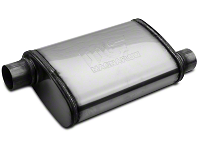 Magnaflow Performance Series Offset 4x9 Muffler - 2.25 in. Polished (79-04 All, Excluding 99-04 Cobra)