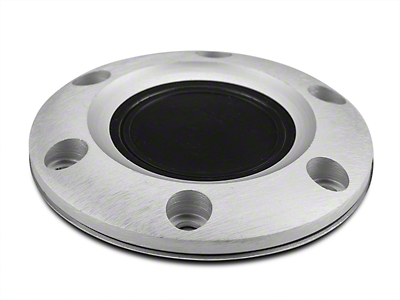 Horn Ring with Button - Brushed (84-04 All)