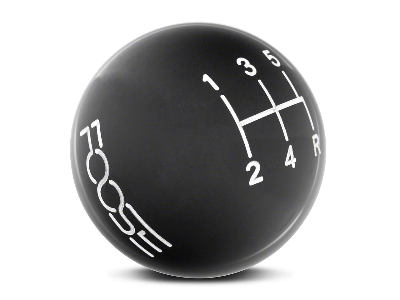 MMD by FOOSE Retro Style 5-Speed Shift Knob w/ FOOSE logo - Black (05-10 GT, V6)