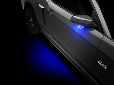 Raxiom Mustang Puddle Lamp Kit - Blue (13-14 All)