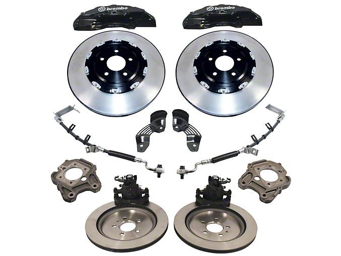 Ford Performance 15 in. 6-Piston Brake Upgrade Kit w/ 2 Piece Rotors (05-14 GT, Bullitt, Boss, GT500)