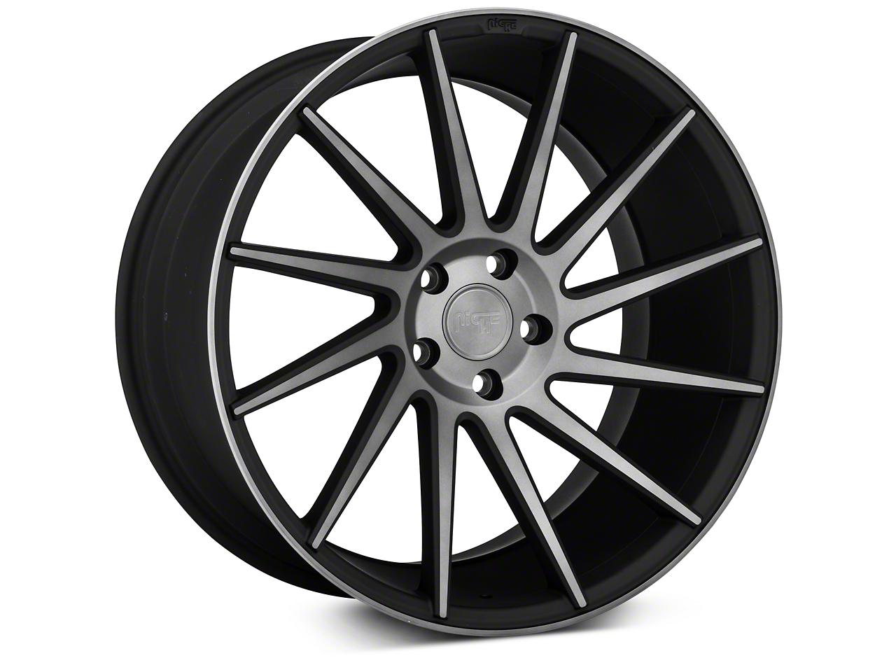 Niche Surge Double Dark Directional Wheel - Passenger Side - 20x10 (05-14 All)