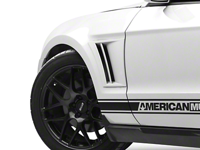 MMD Pre-Painted Fender Vents - Black (10-14 All)