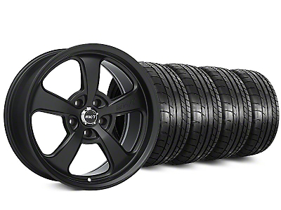 Staggered Mickey Thompson SC-5 Flat Black Wheel & Mickey Thompson Tire Kit - 20x9/10.5 (15-17 All)