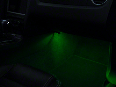 Axial 15 in. LED Strips (Pair) - Green (79-17 All)
