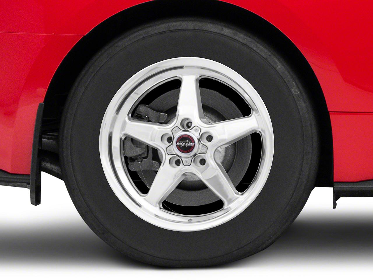 Race Star Drag Star Polished Wheel - Direct Drill - 17x9.5 (15-17 All)