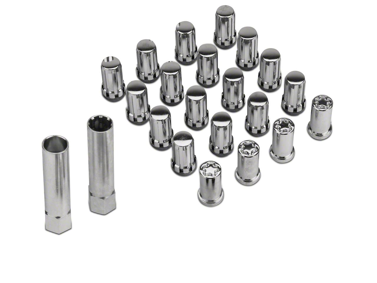 McGard Tuner Style Lug Nut Kit w/ Locks - Chrome (79-14 All)