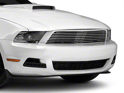 MMD by FOOSE Billet Upper Replacement Grille - Polished (10-12 V6)