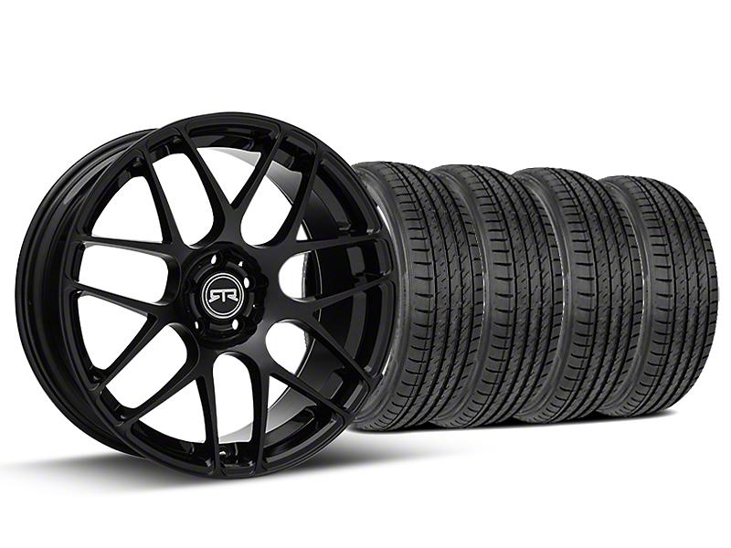 RTR Black Wheel & Sumitomo Tire Kit - 19x8.5 (05-14 All)