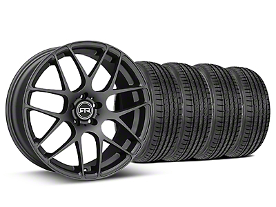Staggered RTR Charcoal Wheel & Sumitomo Tire Kit - 19x8.5/10 (05-14 All)