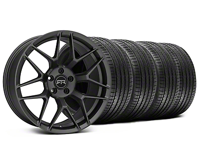 Staggered RTR Tech 7 Charcoal Wheel & Sumitomo Tire Kit - 20x9.5/10.5 (05-14 All)
