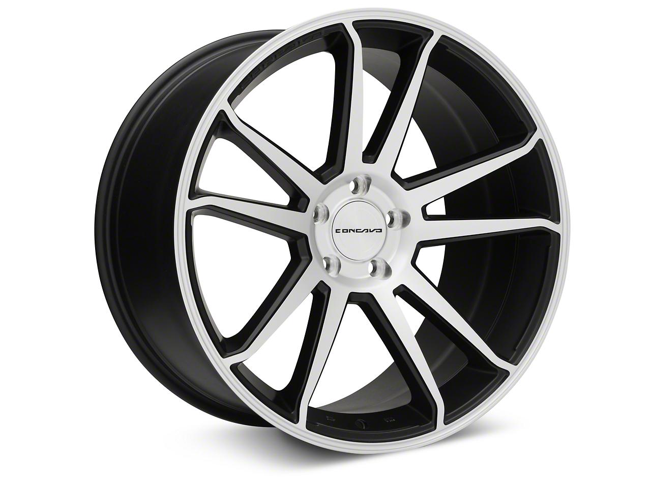 Concavo CW-S5 Matte Black Machined Wheel - 20x10.5 (05-14 All)