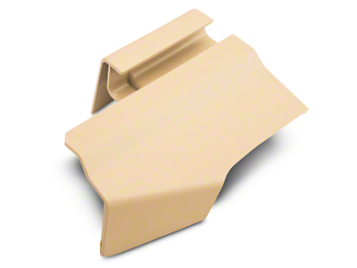 Ford Outer Rear Driver Seat Track Cover - Camel (05-14 All)