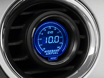 Dual Color Wideband Air/Fuel Ratio Gauge - Digital, Blue/Red (79-17 All)