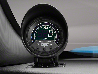 Premium Quad Color Oil Pressure Digital Gauge - Electric (79-17 All)