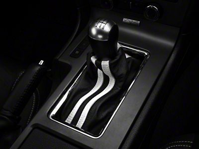 Premium Black Leather Shift Boot - Dual White Stripe (10-14 All)
