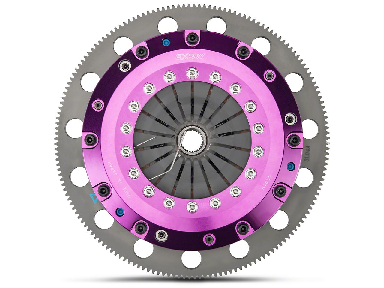 Exedy Hyper Twin Disc Clutch w/ Flywheel - 26 Spline - 8-Bolt (96-04 Cobra, Mach 1; 07-10 GT500)