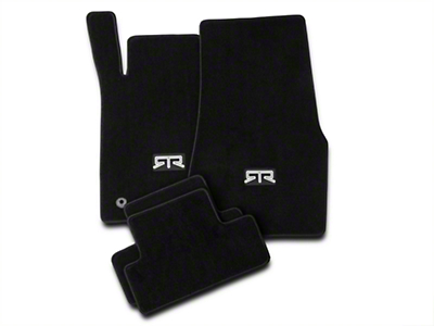RTR Front & Rear Floor Mats w/ RTR Logo - Black (11-12 All)