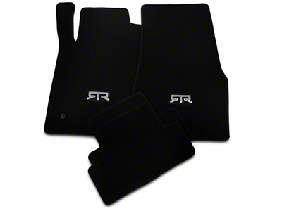 RTR Front & Rear Floor Mats w/ RTR Logo - Black (05-10 All)
