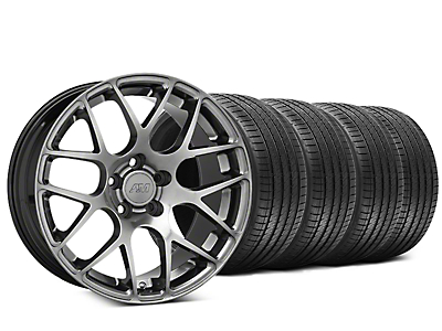 AMR Dark Stainless Wheel & Sumitomo Tire Kit - 20x8.5 (05-14 All)