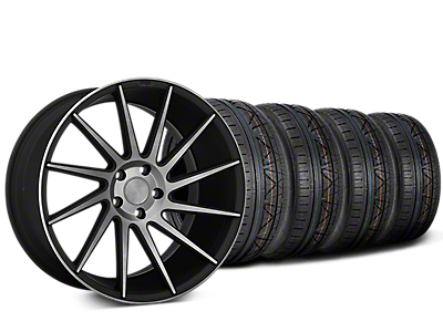 Staggered Niche Surge Double Dark Directional Wheel & NITTO INVO Tire Kit - 20x8.5/10 (05-14 All)