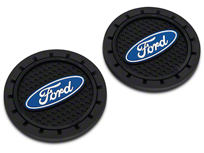 SpeedForm Auto Coasters - Ford Logo (79-17 All)
