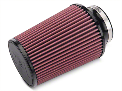 C&L Cold Air Intake Replacement Filter - 4 in. Inlet / 8 in. Length