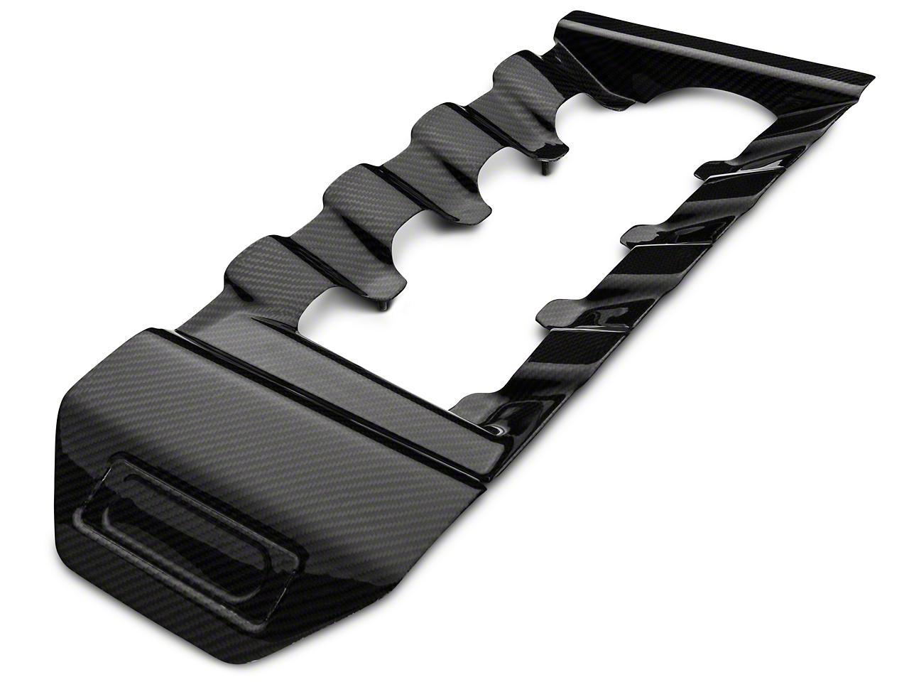 Trufiber Carbon Fiber Engine Cover Insert (15-17 GT)