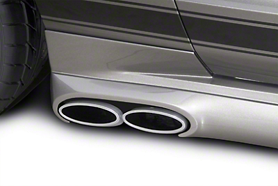 Cervini's C-Series Side Exhaust Kit - Coupe (05-09 GT)