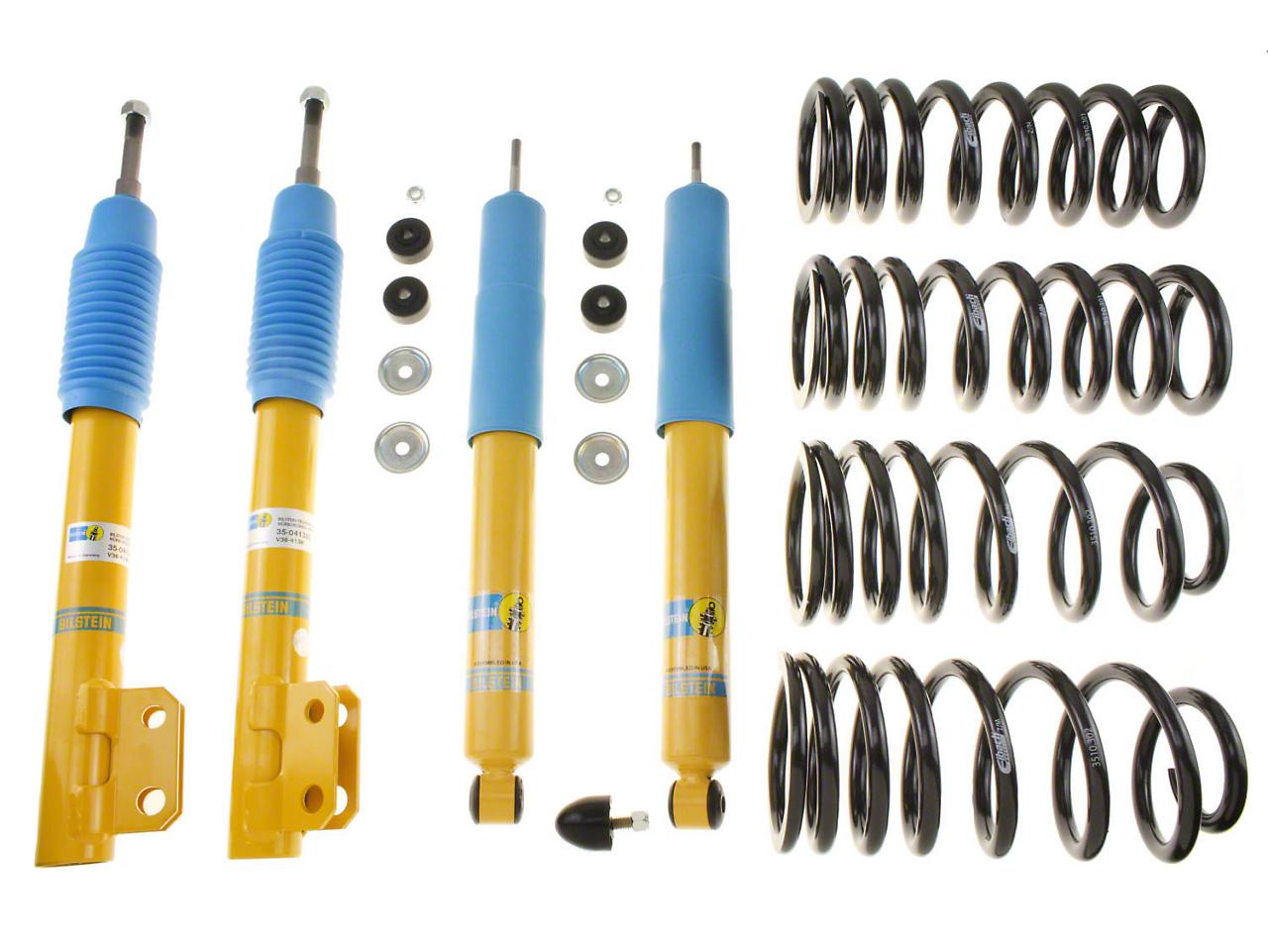 Bilstein Shock, Strut & B12 Pro-Kit Lowering Spring Kit (94-04 GT, Bullitt, Mach 1)