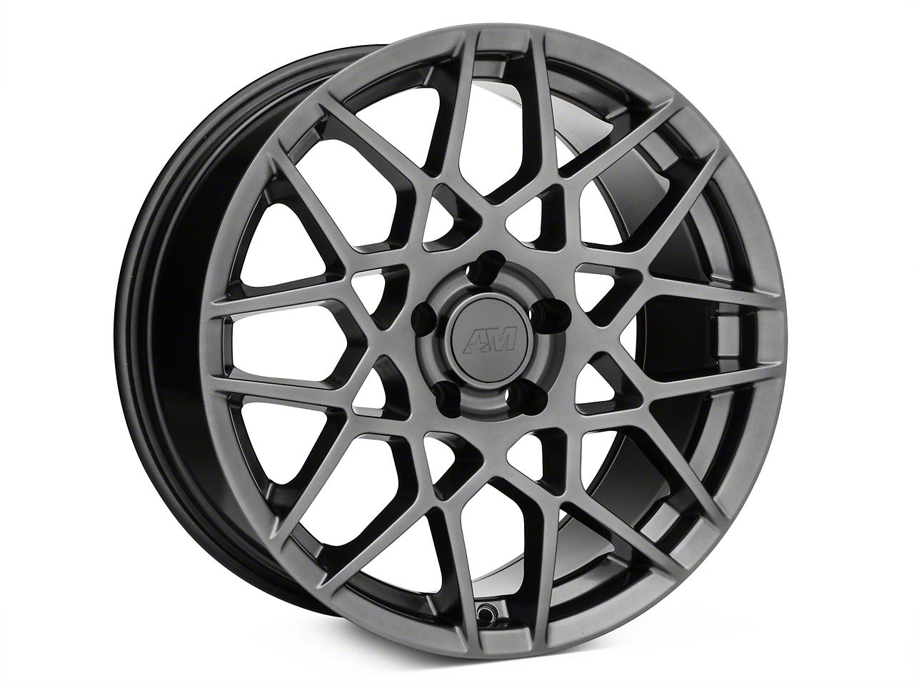 2013 GT500 Style Hyper Dark Wheel - 18x9 (15-17 All)