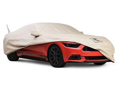 Covercraft Deluxe Custom-Fit Car Cover - 50th Anniversary Logo (15-17 Convertible)