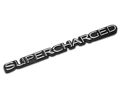 SpeedForm Supercharged Emblem