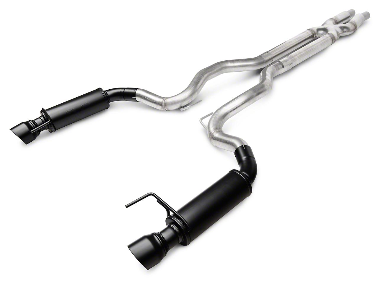 Magnaflow Competition Cat-Back Exhaust - Black Tips (15-17 GT)