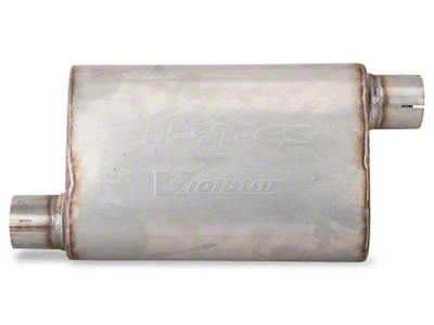 Pypes Violator Offset Muffler (79-04 All, Excluding 99-04 Cobra)