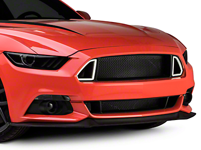 RTR Upper Grille with Lights and Lower Grille (15-17 All)