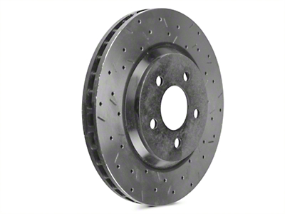 DBA 4000XS Series Drilled & Slotted Rotors - Front Pair (05-10 GT, 11-14 V6)