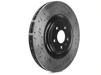 DBA 4000XS Series Drilled & Slotted Rotors - Front Pair (13-14 GT500)