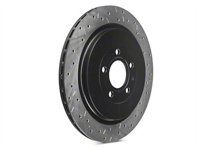 DBA 4000XS Series Drilled & Slotted Rotors - Rear Pair (13-14 GT500)