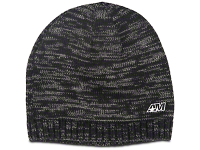 AM Logo Embroidered Beanie