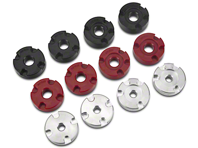 Steeda IRS Differential Bushing Insert System - Street to Full Race Combo Kit (15-17 GT)