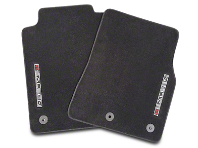 Saleen S302 Black Floor Mats (10-14 All)
