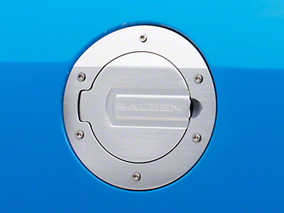 Saleen S281 Brushed Aluminum Fuel Door (05-09 All)