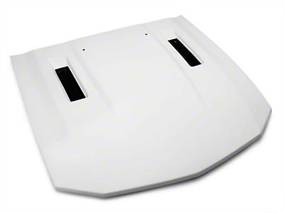 Saleen S281 Hood w/ Louvers - Unpainted (05-09 GT, V6)